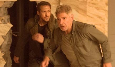 Blade Runner 2049 - Ryan Gosling and Harrison Ford